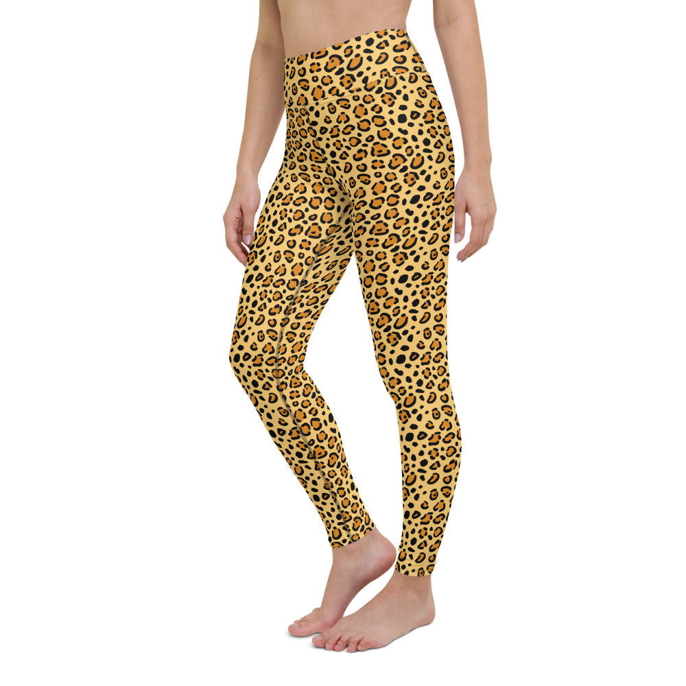 Leopard Spots Yoga Leggings