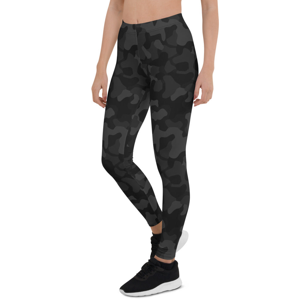 Black Camo Leggings