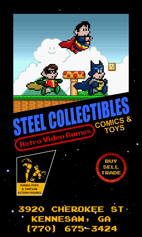 Steel Collectibles: Retro Video Games, Comics, and Toys in Kennesaw, GA