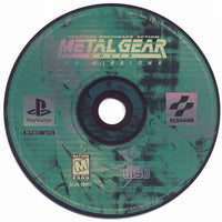 PLAYSTATION - Metal Gear Solid VR Missions