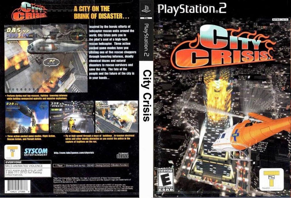 Playstation 2 - City Crisis