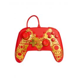 SWITCH - Super Mario {RED/GOLD} Enhanced Wired Controller