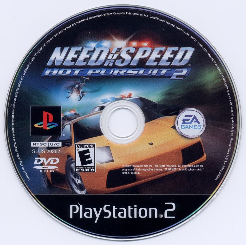 Playstation 2 - Need for Speed Hot Pursuit 2 {DISC}