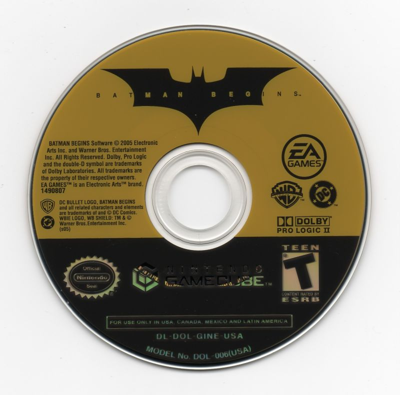 Gamecube - Batman Begins