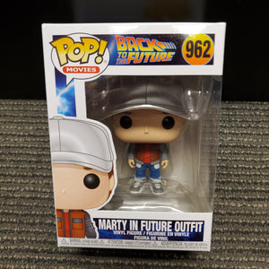 Funko Pop - Marty in Future Outfit