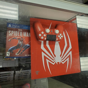 PS4 Pro Spiderman Console Limited Edition