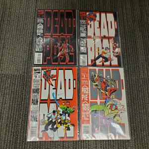 Deadpool Circle Chase Comic Set 1-4