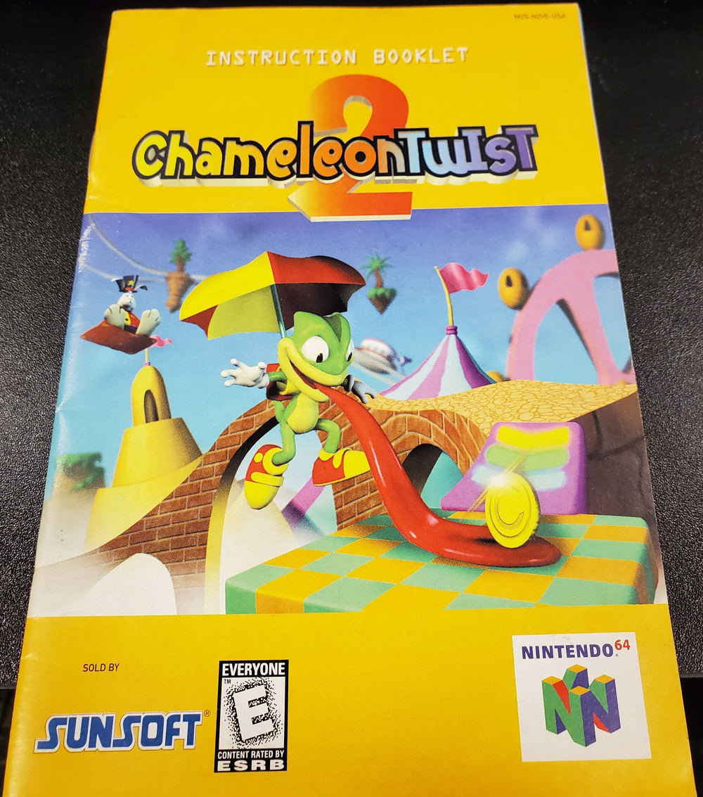 N64 Manuals - Chameleon Twist 2