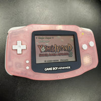 Nintendo Gameboy Advance Console - GBA Translucent Pink
