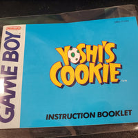 GB Manuals - Yoshi's Cookie