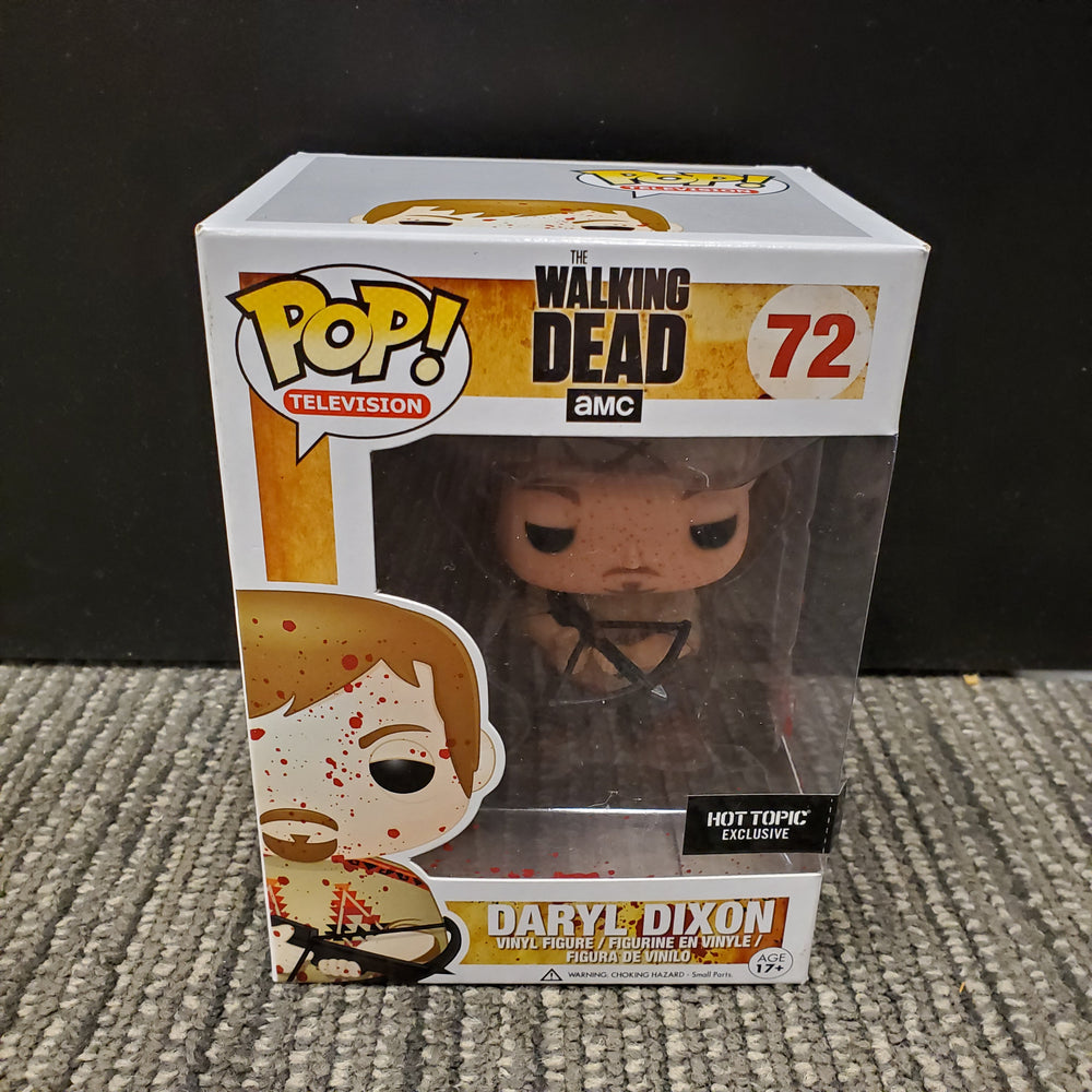 Funko Pop - Daryl Dixon Bloody Poncho Hot Topic Exclusive #72