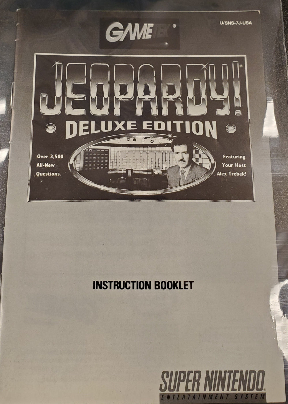 SNES - Jeopardy Deluxe Edition