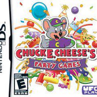 DS - Chuck E. Cheese's Party Games