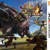 3DS - Monster Hunter 4 Ultimate