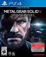 PS4 - Metal Gear Solid: Ground Zeroes