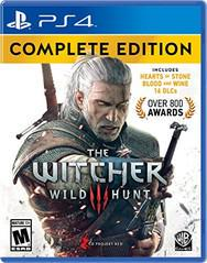 PS4 - The Witcher 3 Wild Hunt: Complete Edition