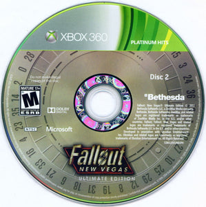 Xbox 360 - Fallout New Vegas: Ultimate Edition