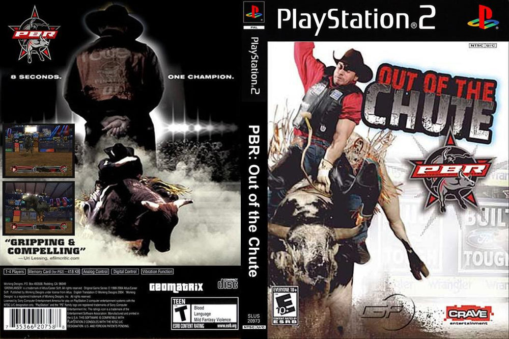 Playstation 2 - PBR Out of The Chute
