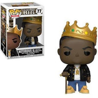 Funko POP! - Notorious B.I.G with Crown #77