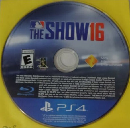 PS4 - MLB The Show 16