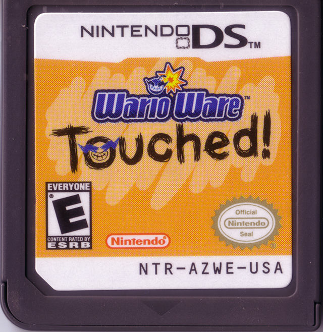 DS - Wario Ware Touched!