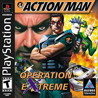 PLAYSTATION - Action Man Operation Extreme
