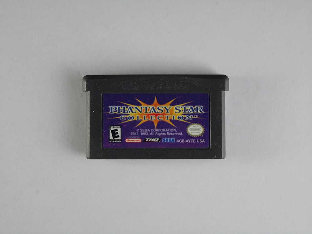 GBA - Phantasy Star Collection