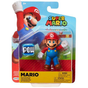 World of Nintendo Mario with POW Block