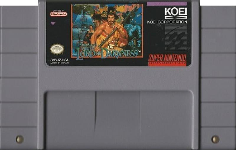 SNES - Nobunaga's Ambition Lord of Darkness