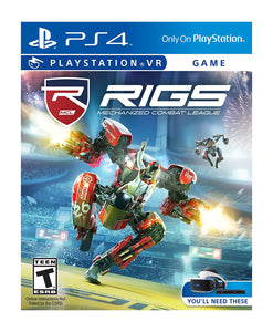 PS4 - Rigs Mechanized Combat League VR