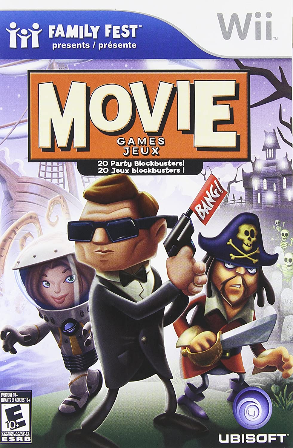 Wii - Family Fest Movie Games