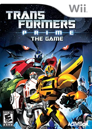 Wii - Transformers Prime The Game
