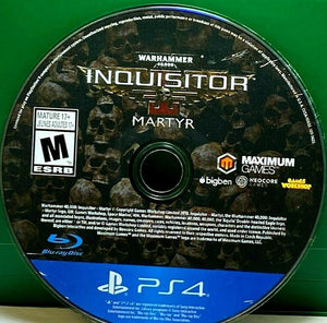 PS4 - Warhammer 40,000 Inquisitor: Martyr