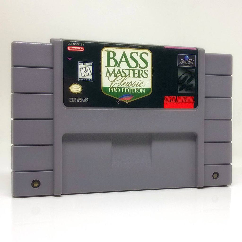 SNES - Bass Masters Classic: Pro Edition