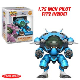 Funko POP! D.VA with Meka (Blueberry) #177