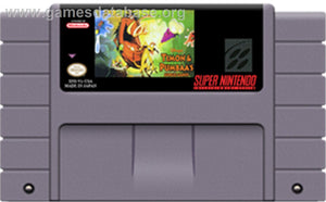 SNES - Disney's Timon & Pumbaa's Jungle Games