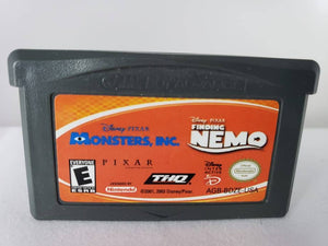 GBA - Monsters INC/Finding Nemo