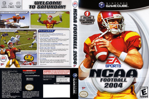 Gamecube - NCAA Football 2004