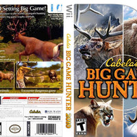 Wii - Cabela's Big Game Hunter 2010