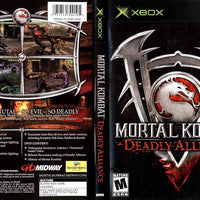 XBOX - Mortal Kombat Deadly Alliance