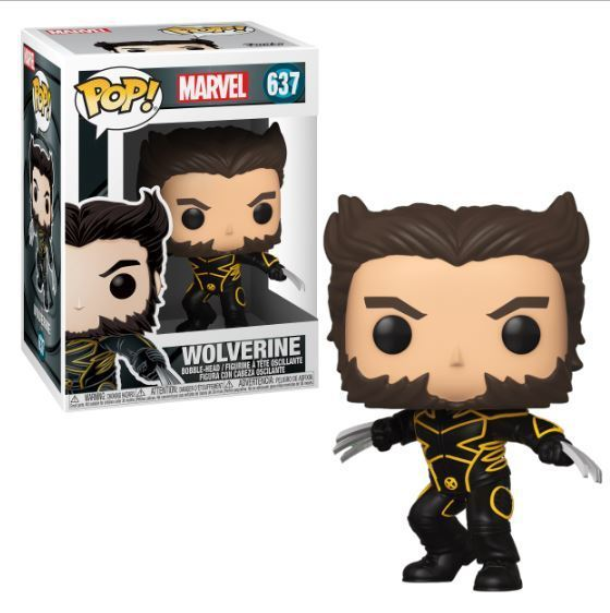 Funko POP! Wolverine in Jacket (X-men 20th) #637