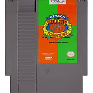 NES - Attack of the Killer Tomatoes