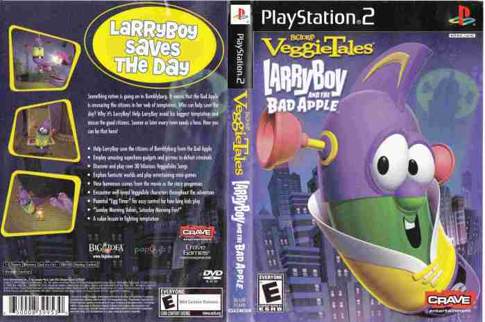 Playstation 2 - Larry Boy and the Bad Apple