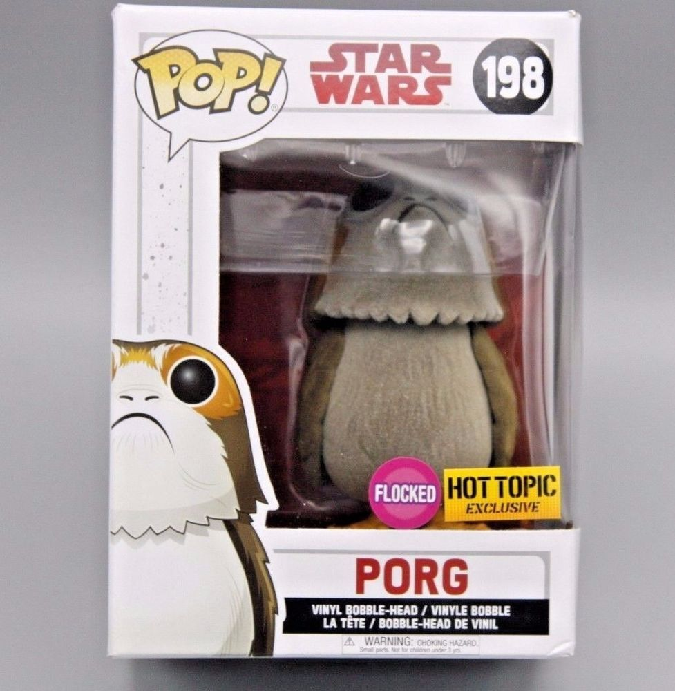 Funko POP! Porg (Flocked) #198