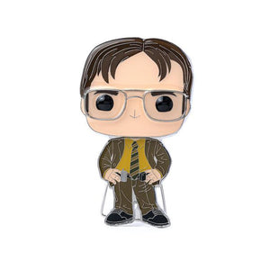 Funko POP! Pin - Dwight Schrute #07