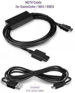 HD Cable for Gamecube/N64/SNES