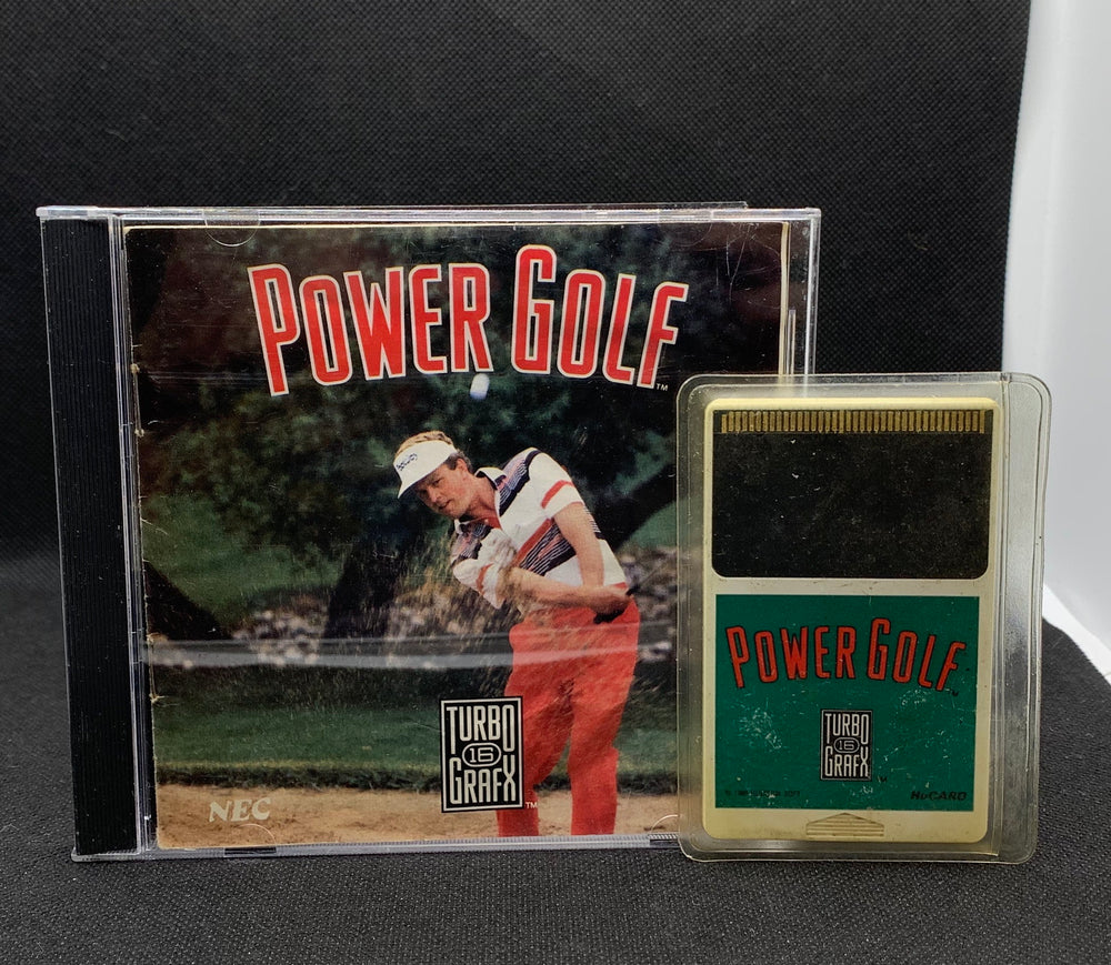 Turbo Grafx 16 - Power Golf