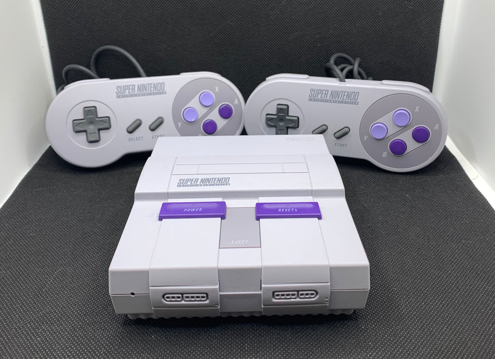 Super Nintendo Classic Mini with 2 Controllers