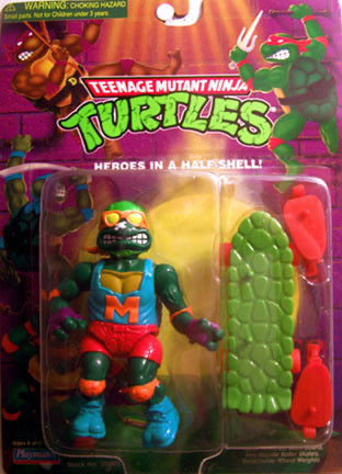 TMNT Heroes in a Half Shell Skateboardin' Mike
