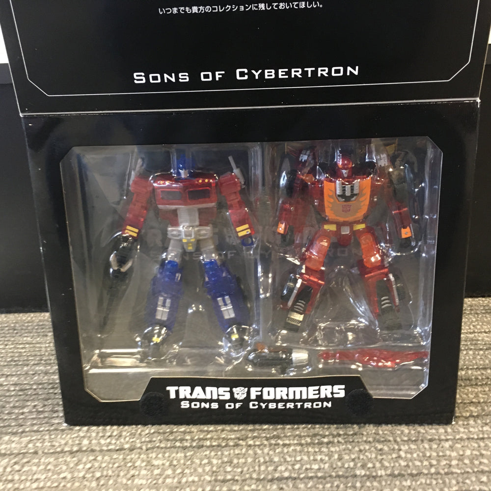 Transformers Sons of Cybertron Optimus Prime and Hot Rod